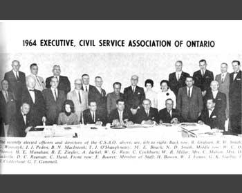 Civil Service Association members