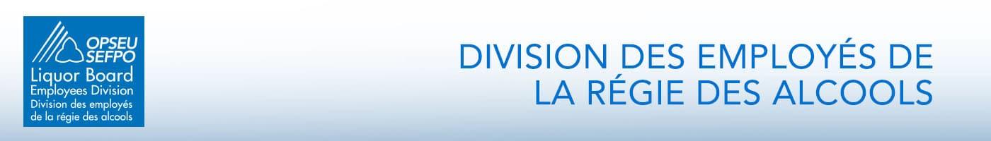 Division des Employés de la régie des alcools