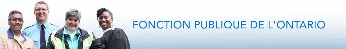 SEFPO Fonction Publique de l'Ontario