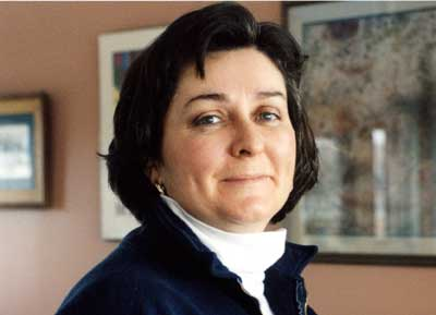 Présidente du SEFPO, Leah Casselman