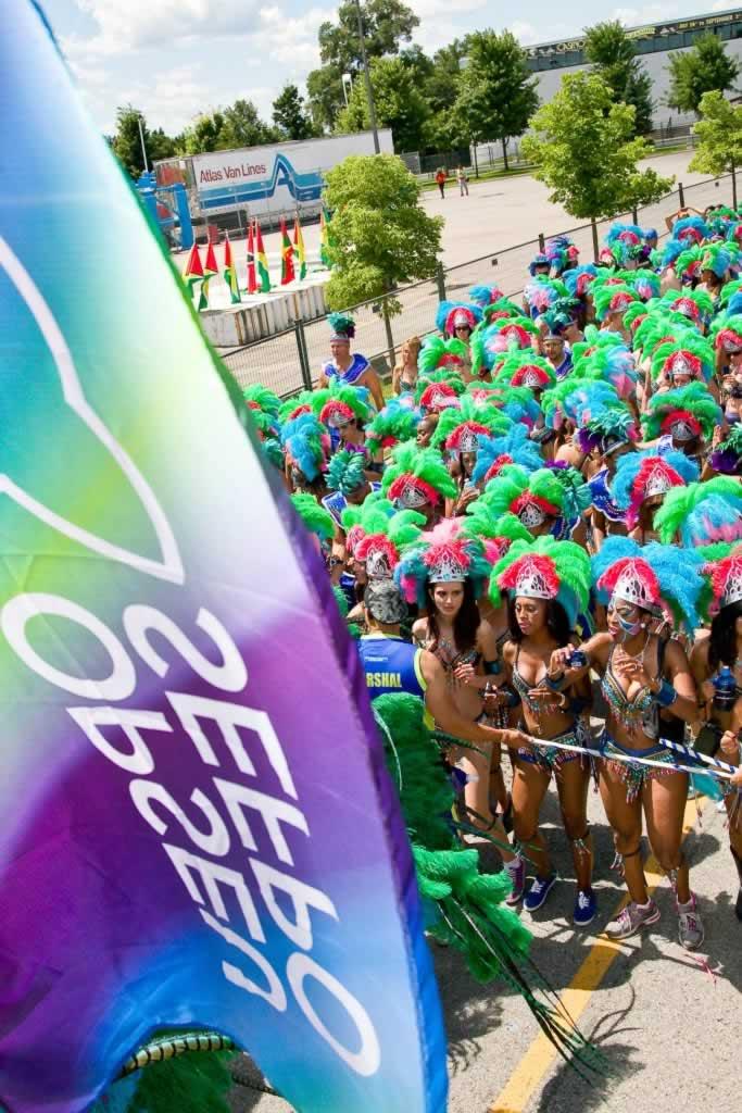 OPSEU members attend Caribana festival