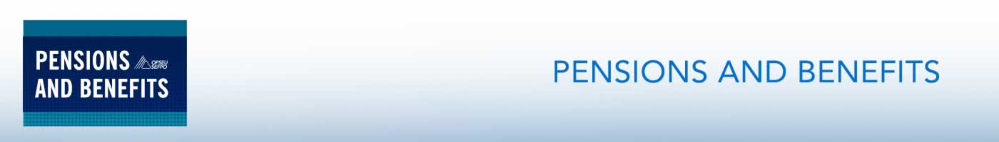 OPSEU Pensions benefits banner