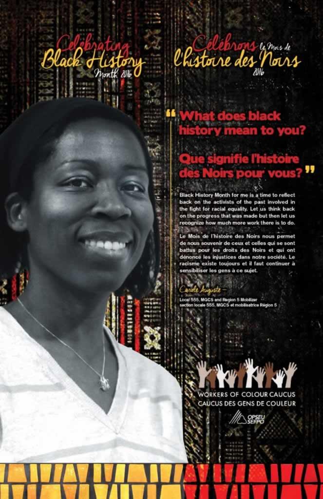 Black History Month: Carole Auguste