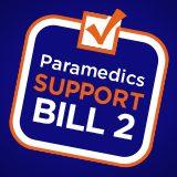 Paramedics Support Bill 2 logo