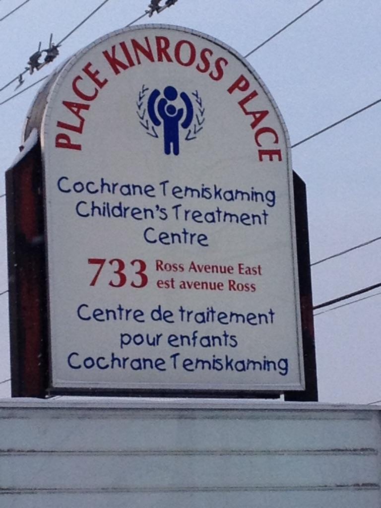 Place Kinross Place: Cochrane Temiskaming Children's Treatment Centre