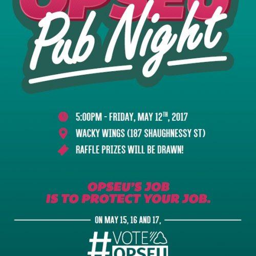 OPSEU Pub Night