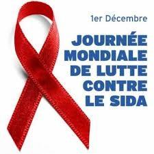 1er Decembre. Journee mondiale de lutte contre le sida