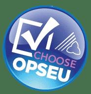I choose OPSEU logo on a button
