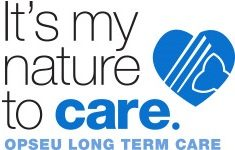 It's my nature to care, OPSEU long term care logo