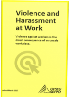 OPSEU - Violence and Harassment at Work document