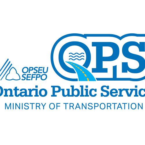 Ontario Public Service Ministry of transportation logo