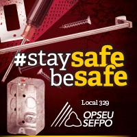 #StaySafeBeSafe banner