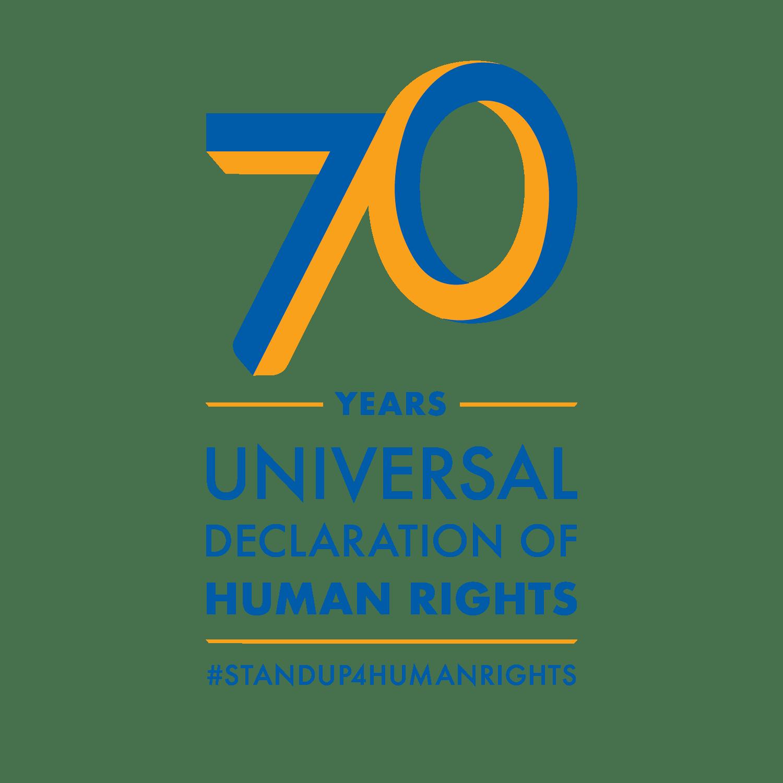 70 Years Universal Declaration of Human Rights #StandUp4HumanRights