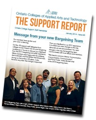 The Support Report cover January 2014