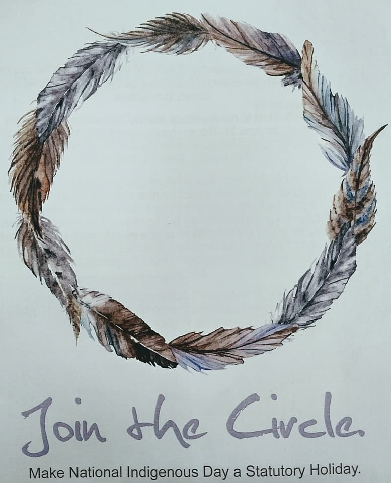 Join the Circle - Make Nation Indigenous Day a Statutory Holidary