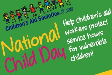National Child Day Help children's aid workers protect service hours for vulnerable children