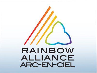 OPSEU SEFPO Rainbow Alliance, Alliance arc-en-ciel logo