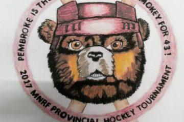 The MNRF Hockey Tournament logo