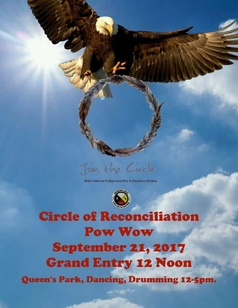 Circle of Reconciliation Pow Wow - Sept. 21, 2017, Queen's Park