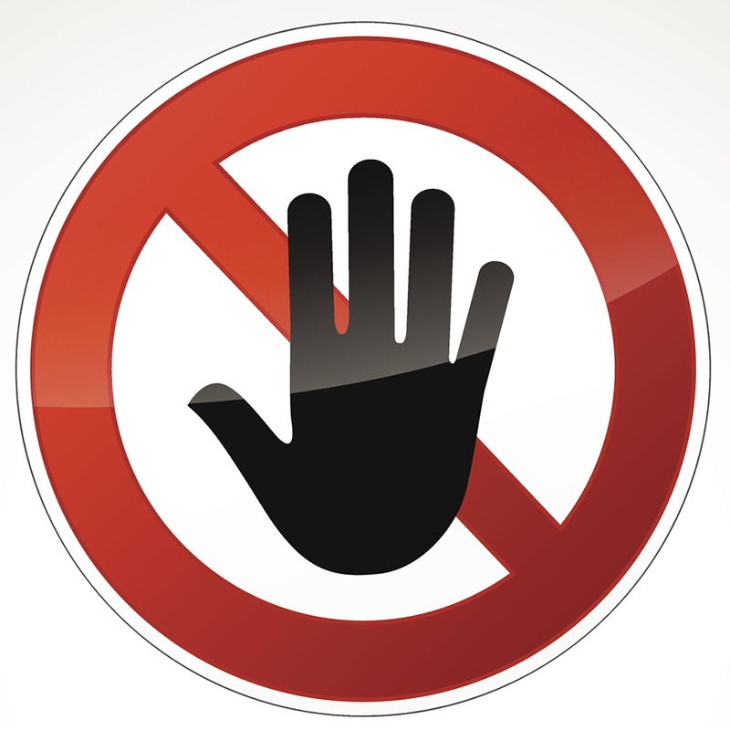 Stop Harassment.