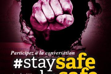 Participez a la conversation #StaySafeBeSafe. SEFPO Local 329