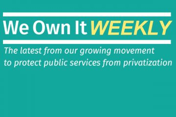 We Own It Weekly logo.