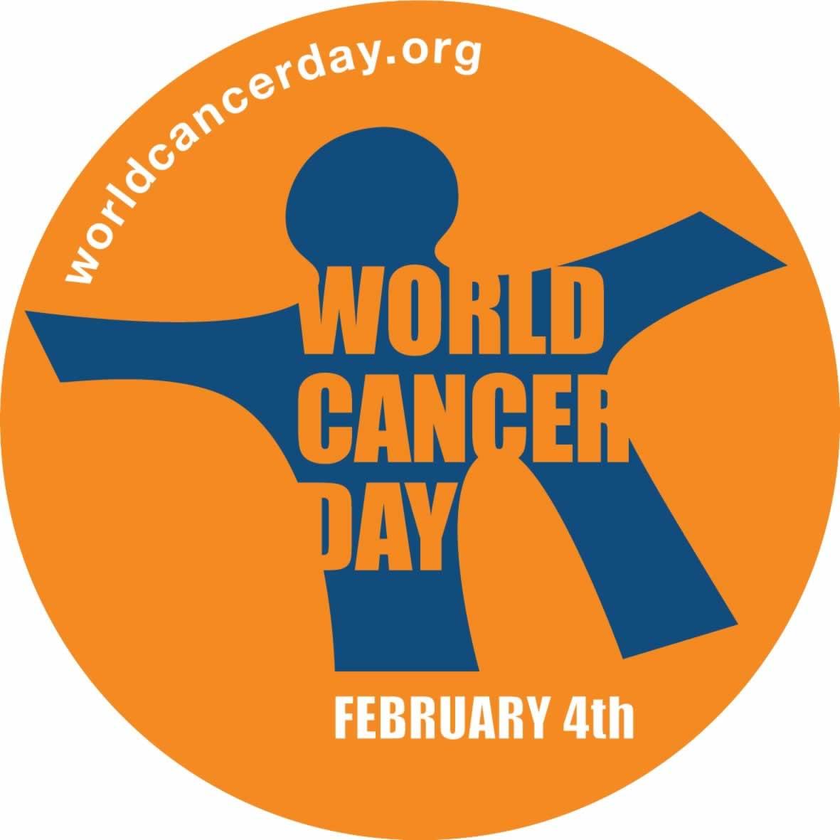 World Cancer Day February 4 - worldcancerday.org