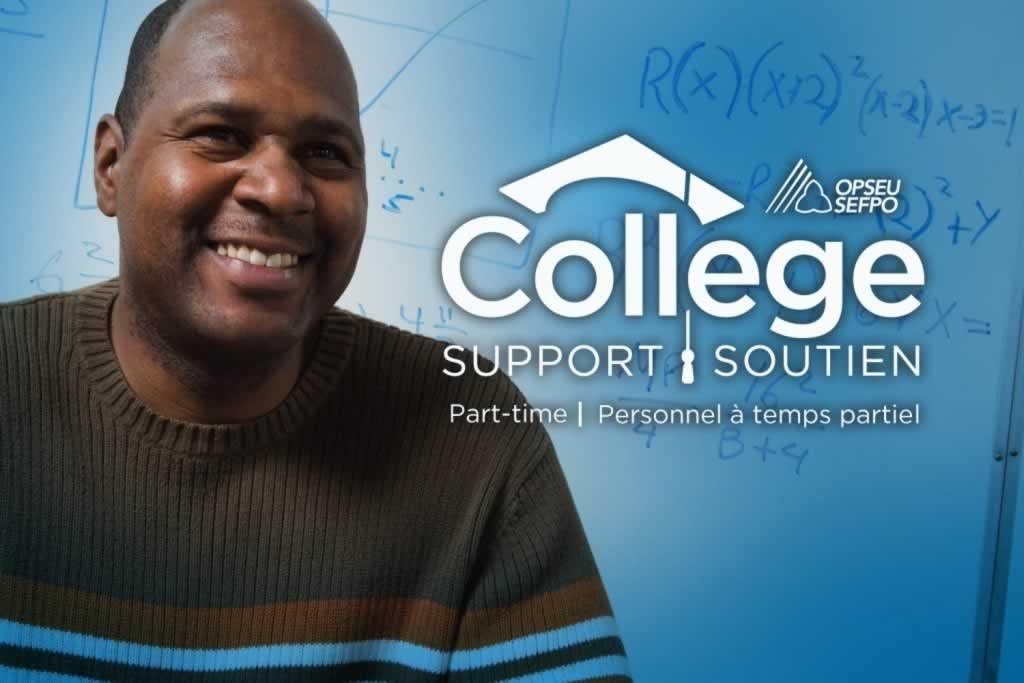 OPSEU College Support Part-time / SEFPO College soutien personnel a temps partiel