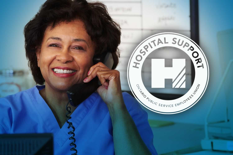 OPSEU Hospital Support