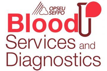 Canadian Blood Services and Diagnostics logo