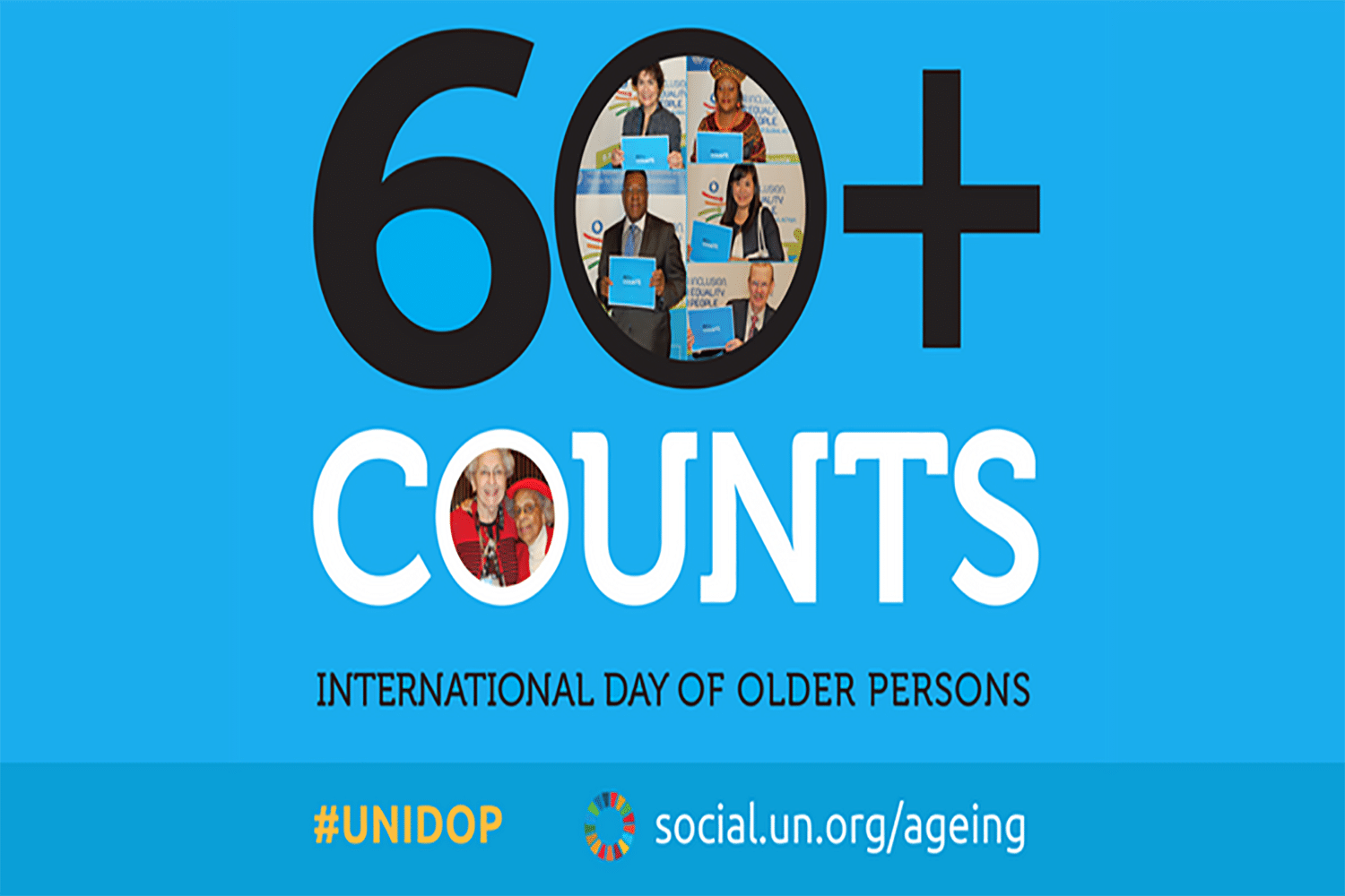 60+ counts: International Day of Older Persons
