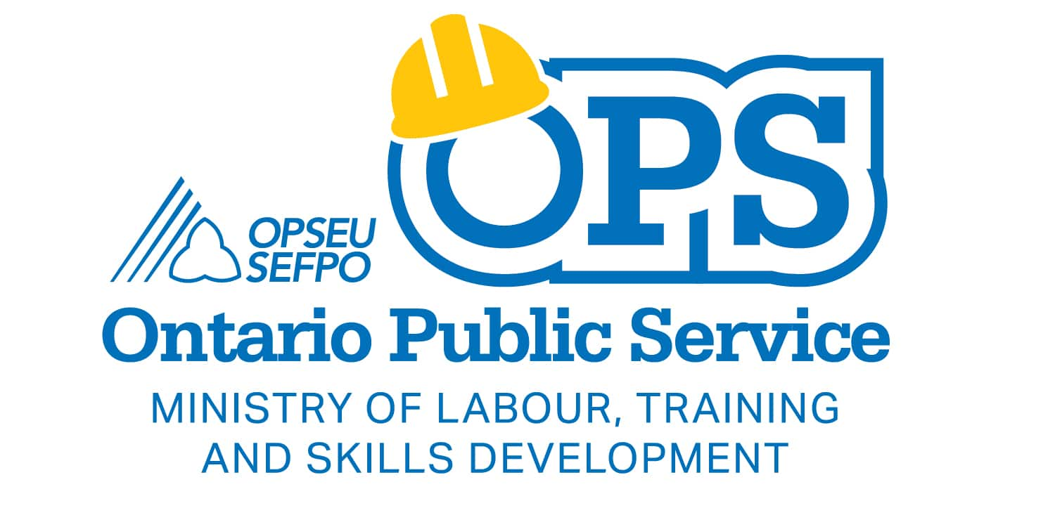 Ontario Public Service: Ministry of Labour, Training and Skills Developent