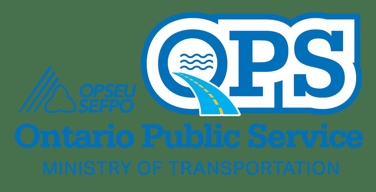 Ontario Public Service, Ministry of Transportation Logo