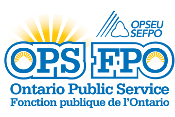 OPS Logo: Ontario Public Service. FPO Logo: Fonction publique de l'Ontario