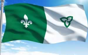 drapeau franco ontarien