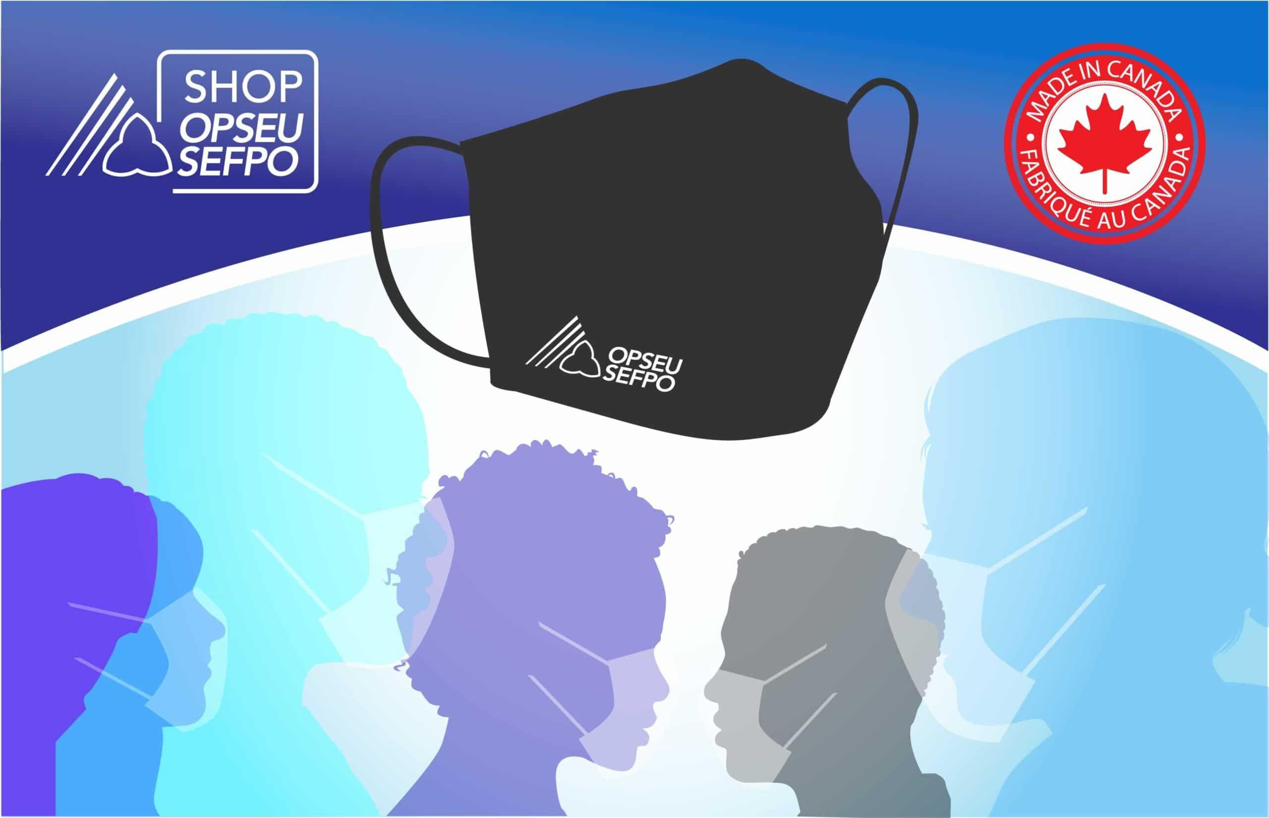 SHOP OPSEU facemasks