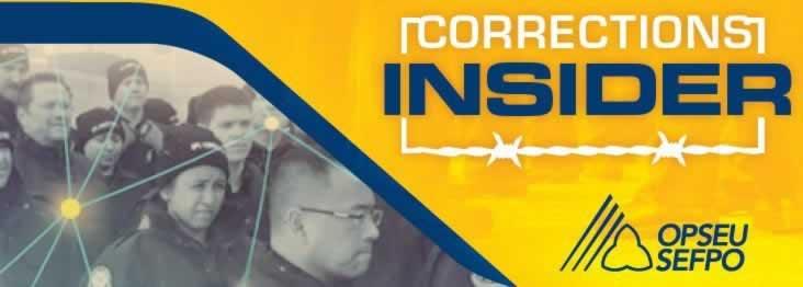 Corrections Insider Banner