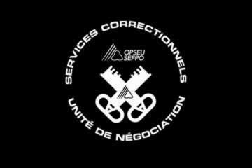 Services Correctionnels, Unite de Negociation Logo
