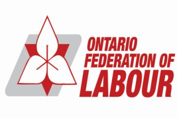 Ontario Federation of Labour logo