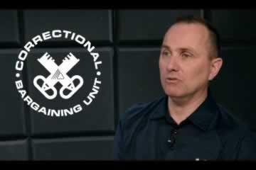 Correctional Bargaining Unit, photo of Darryl