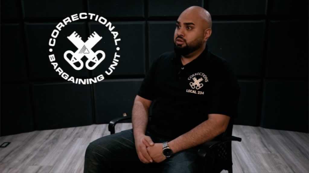 Correctional Bargaining Unit, man sitting in chair