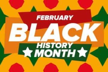 February: Black History Month logo
