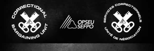 OPS Corrections Bargaining Unit Logos