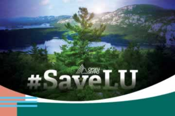 #SaveLU Rotating Banner