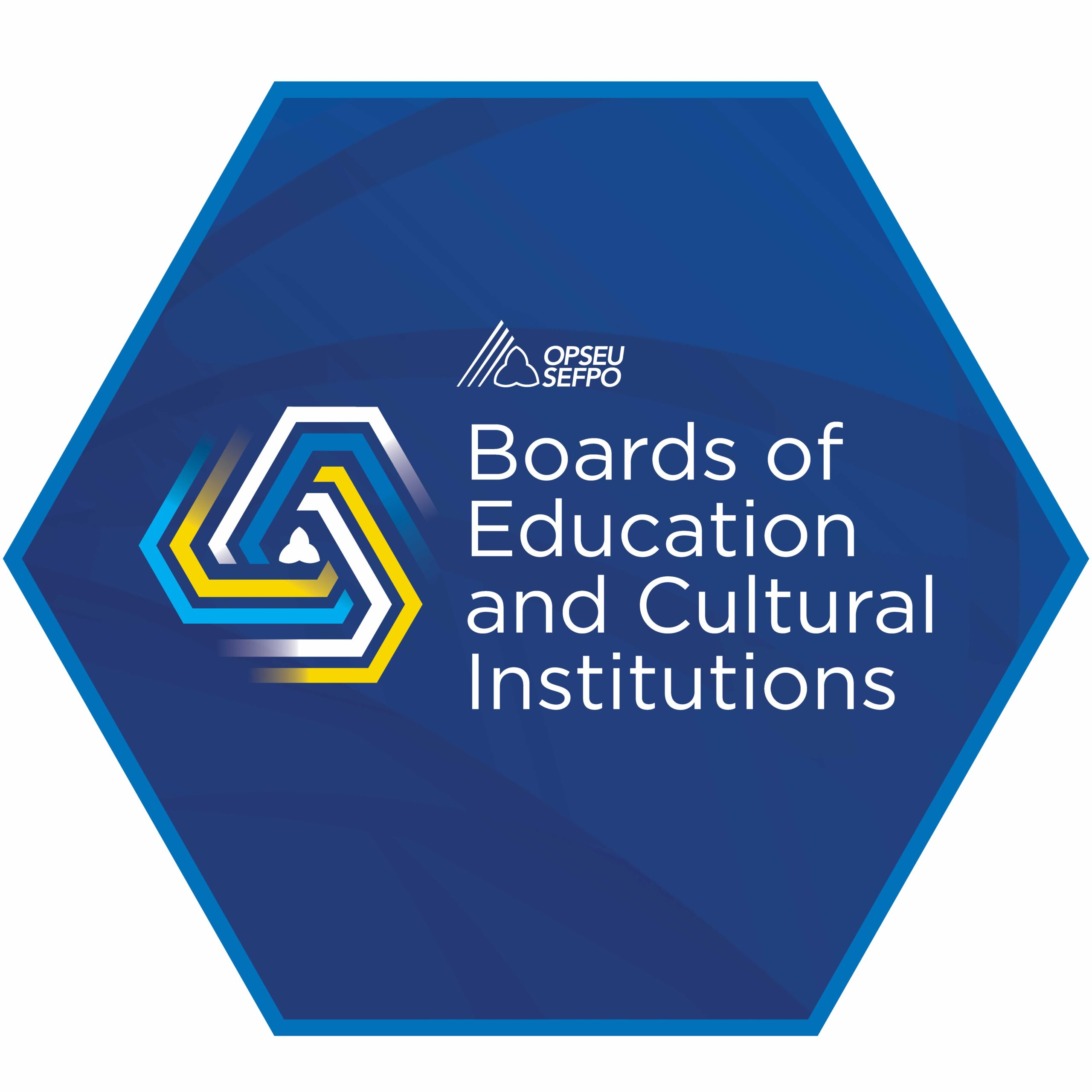 OPSEU/SEFPO Boards of Education and Cultural Institutions Logo