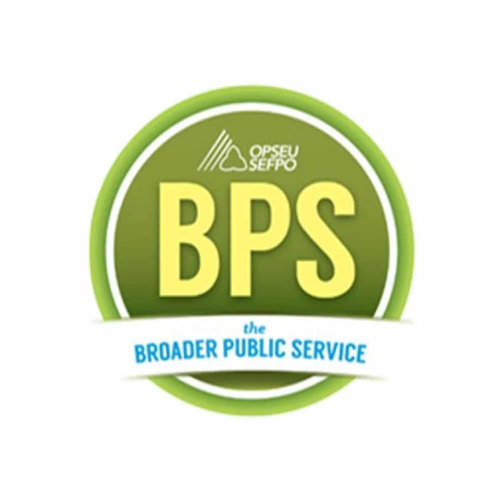 OPSEU/SEFPO BPS - The Broader Public Service