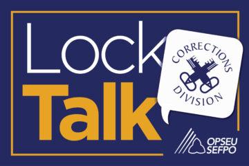 The LockTalk image. Corrections Division